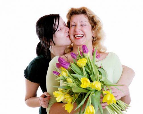 hoa tặng mẹ yêu