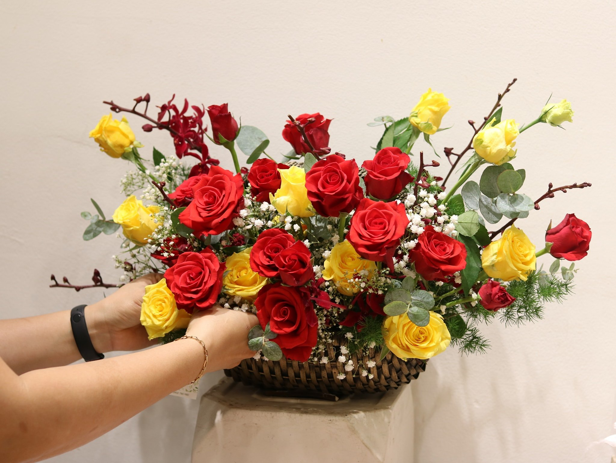 Giỏ hoa tặng hoa sinh nhật đẹp