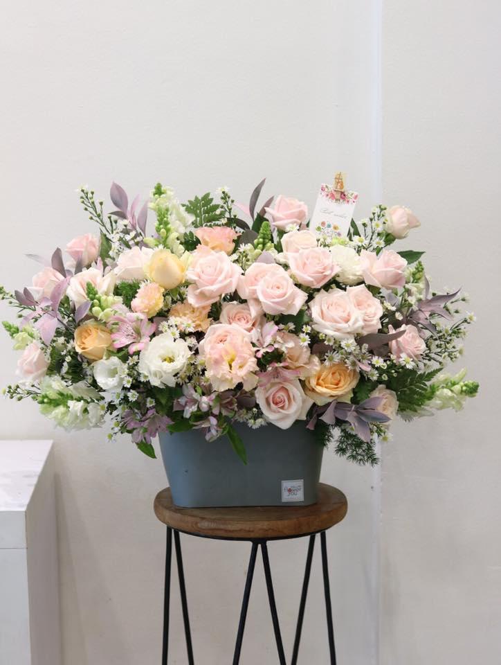 Giỏ hoa tươi đẹp tphcm